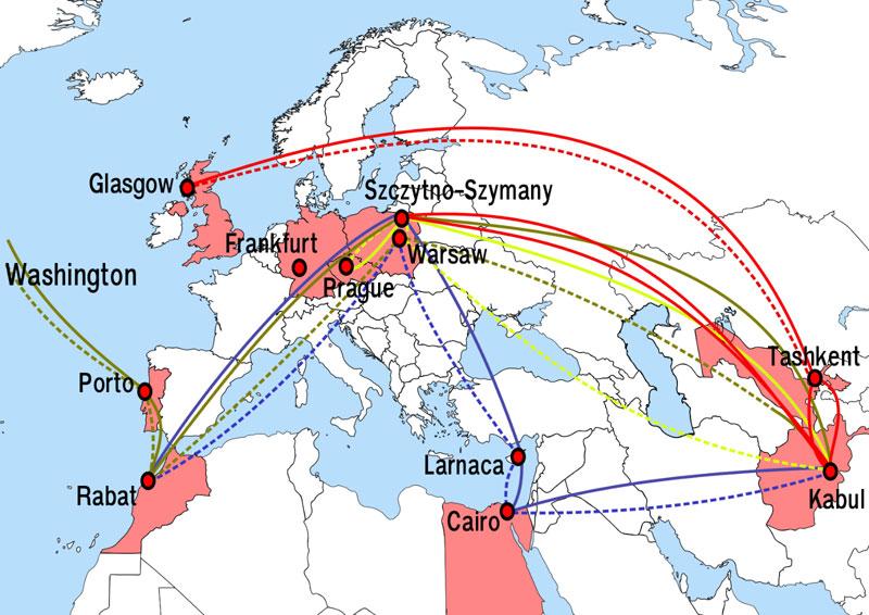 Les vols illégaux de la CIA dits de
