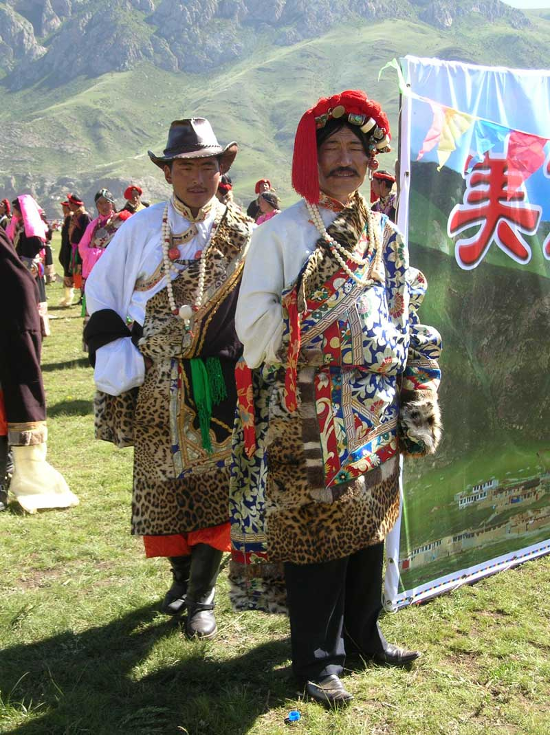 au festival de Yushu (photo JPDes. 2007)