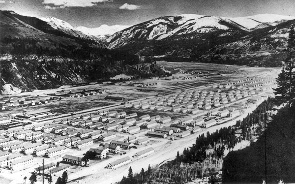 Camp Hale, Colorado, où les terroristes tibétains furent entrainés par la CIA (Photo : Colorado Historical Society)