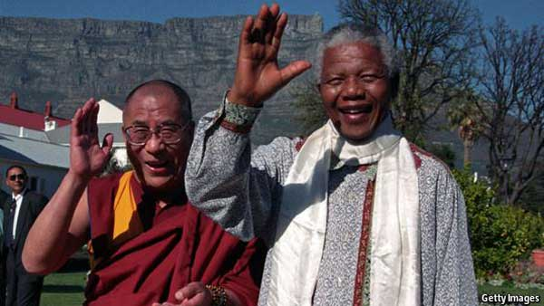 Photo prise en 1996 à Cape Town